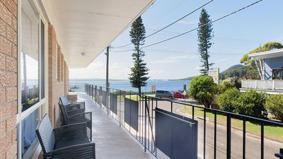 Photo for Shoal Towers, 1/11 Shoal Bay Road - fantastic unit across the road from beach