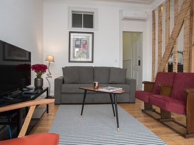 Photo for Belem 1886: Live like a local - charming and cozy apt in old building refurbished