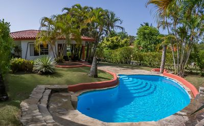 Photo for 2 bedroom villa with private Pool