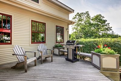 Ultimate cookouts await on the spacious deck!