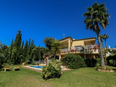 Photo for Villa Panoramica - Beautiful14 man Villa with Sea View & Private Pool & Jacuzzi