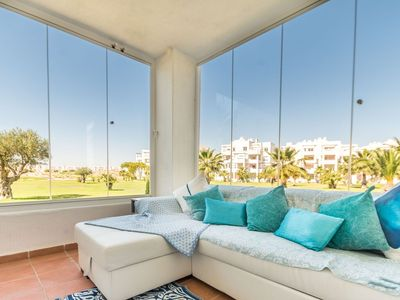 Photo for 2 Bedroom Apartment with golf views La Terrazes Golf Resort. MURCIA VACATIONS LA10