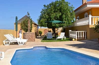 Photo for Perfect Family Villa with Private Pool & Children's Games Room, sea Views.