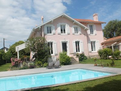 Photo for Family house with garden 2200m2 and heated pool and secure