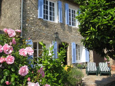 Photo for Maison Azur Charming 17th Century Village House With Flower Garden