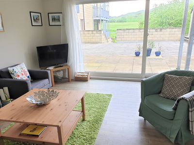 Photo for Light, bright apartment by Holyrood Royal Park, with stunning views and parking
