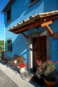 Photo for BLUE HOUSE -CASA BLU - near CIVITA DI BAGNOREGIO-  Etruscan Italy