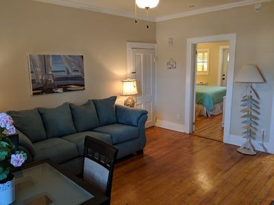 Photo for Sanitized pet-friendly downtown apartment in a beautiful 1880's home