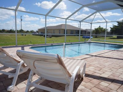 Photo for Villa Biserka - Cape Coral 3b/2ba home w/electric heated pool, HSW Internet,