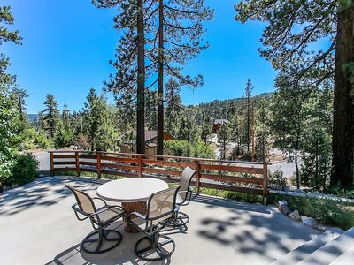 Photo for *WALK TO LAKE/MARINA FAWNSKIN GEM~Modern Cabin Decor~Great Sun Deck/Patio~
