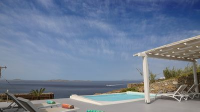 Photo for Blue Villas | Delos View Summer House I | Great View