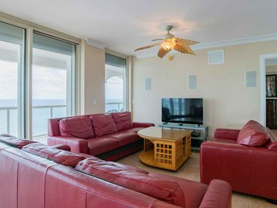 Photo for Beautiful Gulf Views and Just Steps to the Beach! Complimentary Beach Chairs and Umbrella