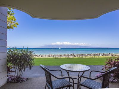 Photo for West Maui Oceanfront 180 Degree View... Completely Remodeled!!