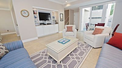Spacious, beautifully decorated family room -  perfect for relaxing!