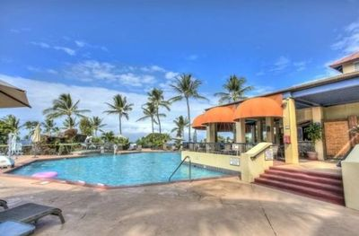 Kona Coast Resort Family Pool - All Resort Amenities are Available to Our Guests