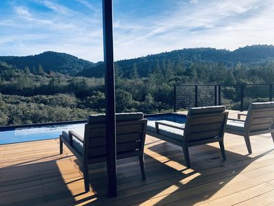 """Photo for Stylish 'Modsita' Guest House: """"The Best Views in Calistoga!"""""""