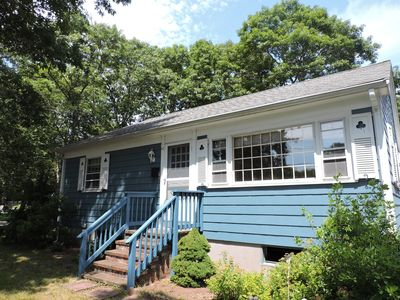 Photo for Wonderful sunny corner lot walk to Falmouth Heights Beach