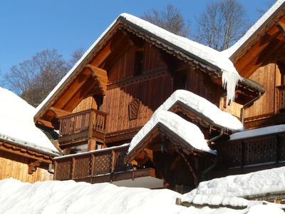 Photo for Clearmount Chalet, Meribel. 12/14 people. Skiing in the heart of the 3 Valleys