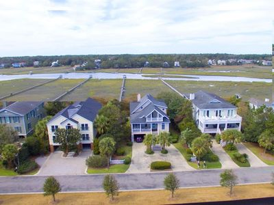 Beautiful Creek Front Home, Myers House is located in Gated Community of Inlet Point South