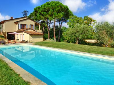Photo for Villa in Montaione with 6 bedrooms sleeps 12