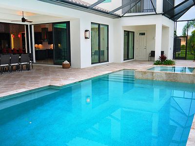 Photo for Vacation home La Paz in Cape Coral - 8 persons, 4 bedrooms