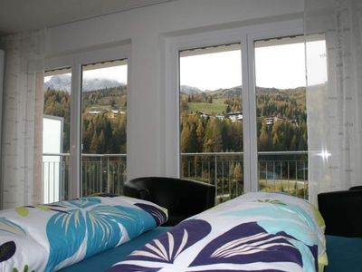 Photo for Apartment, shower and bath, toilet, 2 bedrooms - Bellas Bergblick