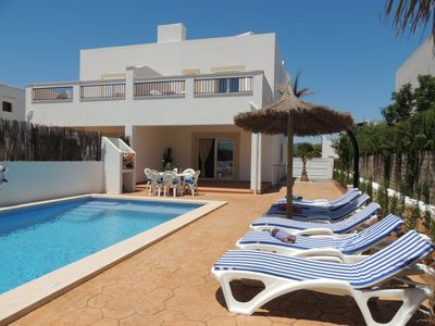 Photo for Villa Lagoa - Beautiful and Brand New attached Villa with AC and Private Heated Pool ! - Free WiFi