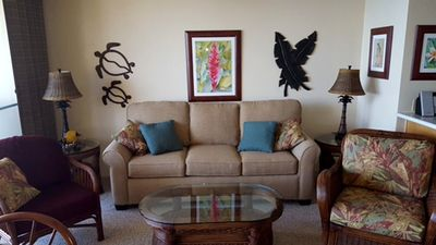 Photo for UP TO 25% OFF!!!  Sugar Beach Resort 1BD Ocean Front  #526