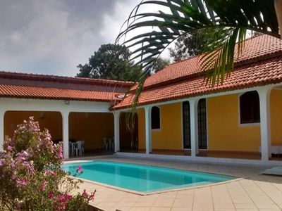 Photo for In analandia, the yellow chacara is the only one that offers, whole house, wifi etc ..