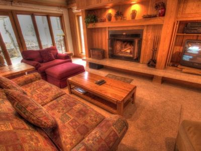 Photo for Ski IN |  Only 95 yards to the ski lift | 2 Bedroom | Sleeps 7