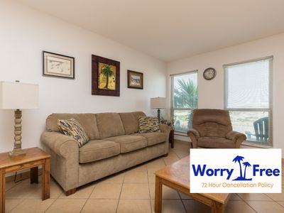 Photo for 1st floor property with beach view and great location!