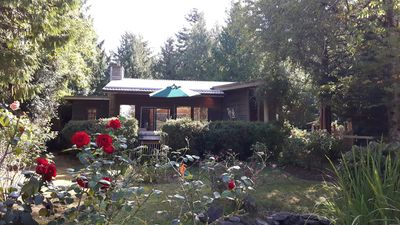 Photo for KEMA  Hornby Island - House - Waterfront access on property across road