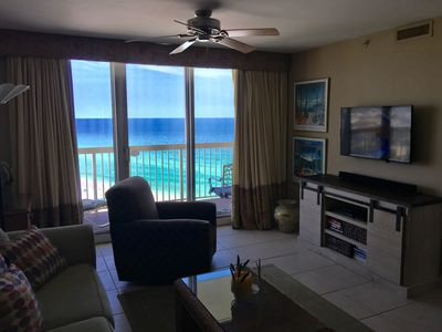 Beautiful Gulf Waters as seen from living room