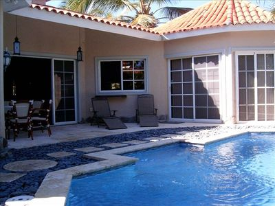 Photo for Fabulous Cabarete Vacation/Holiday House/Villa Rental with pool on Cabarete Bay!