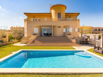 Photo for Villa El Sol for 10 persons in Son Serra de Marina Mallorca
