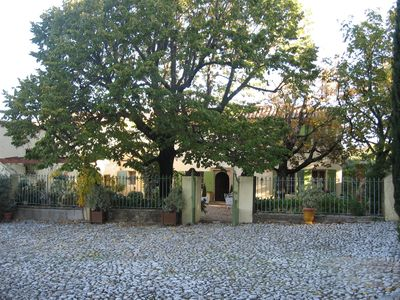 Photo for Bastide area, authentic farmhouse and XVIII furniture parking heart of vill