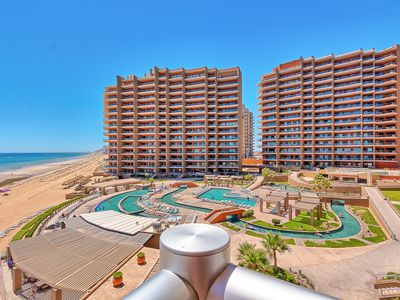 Photo for Breathtaking Ocean Front 2 Bedroom Las Palomas Phase 2 Condo - Next to the Beach