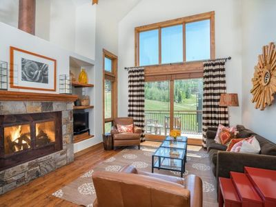 Photo for Enjoy True Ski in and out luxury from this updated luxury condo - sleeps up to 8