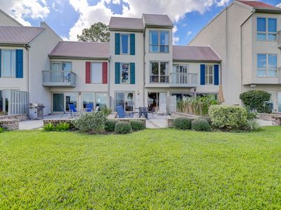 Photo for Luxurious 4 Bedroom Townhouse in Harbour Town Overlooking the Calibogue Sound