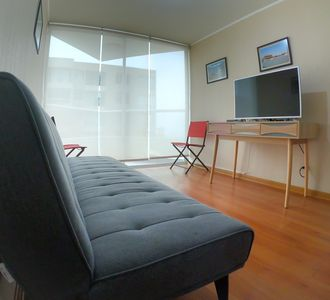 Photo for Exclusive Apartment near Airport with Sea View & Pool