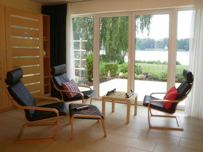 Photo for Ground floor apartment - Ferienwohnhaus Drei am Zemminsee