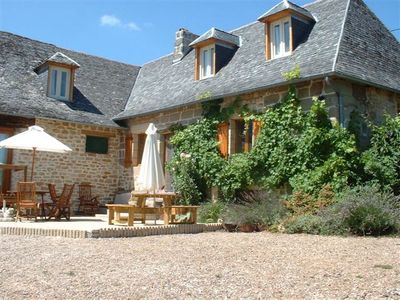 Photo for On the border of Dordogne Correze with 6 bedrooms and swimming pool for 12-13 people