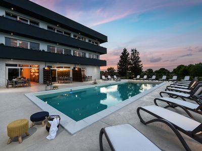 Photo for Elite three level villa with 13 en suite bedrooms, 72m private swimming pool