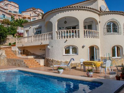 Photo for Vista al mar - sea view villa with private pool in Benitachell