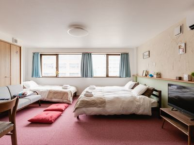 Photo for Comfortable apartment YUYU STAY- MOMODANI Merry over 60 square meters, 7 minutes by train to Tennoji direct street and Osaka Castle