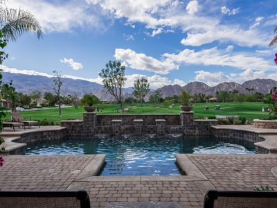 Photo for Beautiful  PGA west House with pool and unobstructed mountain views