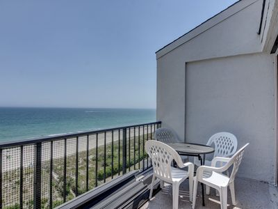 Photo for Station One - 8I From - Oceanfront condo with community pool, tennis, beach