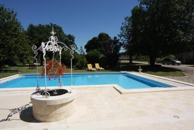 Good Foussignac Barn Rental   Secluded Barn With Private Pool Between  Cognac,Angouleme, Royan Bordeaux