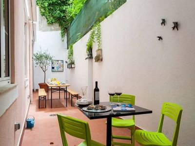 Photo for Family friendly 4BR Apt w/ large patio, in Alfama