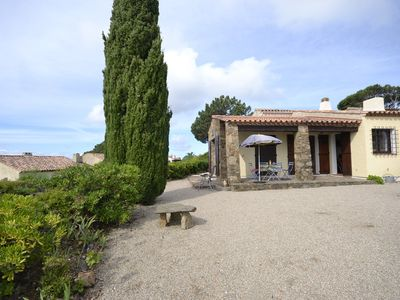 Photo for House Bungalow with sea and hill view on the heights of Le Lavandou